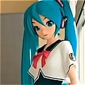 Miku Cosplay (Project Diva 2) from Vocaloid