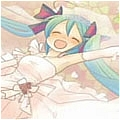 Miku Cosplay (White) from Vocaloid