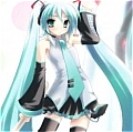 Miku Cosplay De  Vocaloid