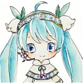 Miku Wig (Mix Color,Clips) from Vocaloid