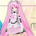 Miku Wig (Sakura) from Vocaloid