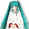 Miku Wig (White Paradise,2nd) De  Vocaloid
