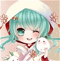 Miku Wig (White Paradise 2nd2) from Vocaloid