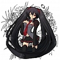 Miku Zatsune Clips on Cosplay Wig from Vocaloid