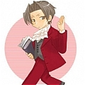 Edgeworth Cosplay Da Ace Attorney