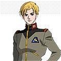 Riddhe Uniform von Mobile Suit Gundam Unicorn