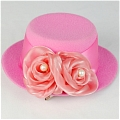 Mini Hat (Rose Red 01)