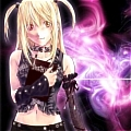 Misa Amane Black Gothic Lolita Costume from Death Note