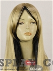 Mix Color Wig (Long, Straight, Gold Black)