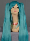Mix Color Wig (Long,Straight MMiku)