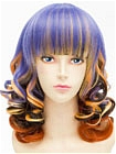 Mix Color Wig (Short,Curly,B02)