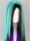 Mix Colour Wig (Long,Straight,Lolita,A1)