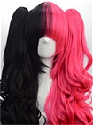Mix Colour Wig (Long,Wavy,Clips on,A16)