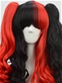 Mix Colour Wig (Long,Wavy,Clips on,A18)