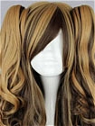 Mix Colour Wig (Long,Wavy,Clips on,A6)