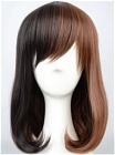 Mix Colour Wig (Medium,Straight,BOB)