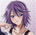 Mizore Wig from Rosario Vampire