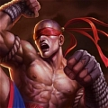 Muay Thai Lee Sin Cosplay Da League of Legends