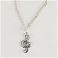 Music Note Necklace (4th) Da Vocaloid