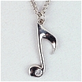Music Note Necklace Desde Vocaloid