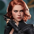 Black Widow Wig von Marvel's The Avengers