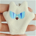 Nekozawa Puppet (White Cell Phone Accessory) from Ouran High School Host Club