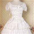 Lolita Dress (09030304-Q White)