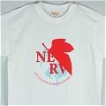 Neon Genesis Evangelion T Shirt (White Blue 01) De  Neon Genesis Evangelion