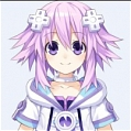 Neptune Cosplay from Hyperdimension Neptunia