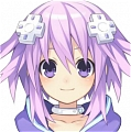 Neptune Wig (2nd) from Hyperdimension Neptunia