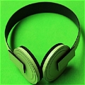 Nice Green Headphone von Hamatora