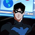Nightwing Cosplay von Young Justice