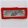 Naruto Headband (Red,Leaf Village) Desde NARUTO
