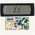 Naruto Headband (Black,Mist Village,Package) Da Naruto