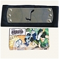 Ninja HeadBand Sound Village Black from Naruto (Package)