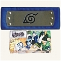 Naruto Headband (Blue,Leaf Village,Package) Da Naruto