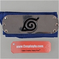 Naruto Headband (Blue,Leaf Village) Desde NARUTO