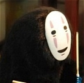 No Face Cosplay from Spirited Away