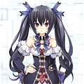 Noire Cosplay from Hyperdimension Neptunia