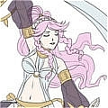Olivia Cosplay (Pants,Sleeves only) from Fire Emblem Awakening