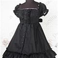 Lolita Dress (09030401-Q Black)