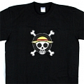 One Piece T Shirt (Black 01) Desde One Piece
