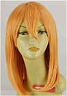 Orange Wig (Medium, Straight, XSP002MT)