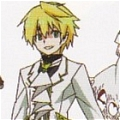 Oz Cosplay (white) from Pandora Hearts