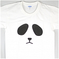 Panda T Shirt (White 01)