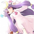 Patchouli Cosplay Desde Touhou Project