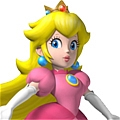 Peach Cosplay Desde Super Mario