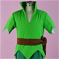 Peter Pan Costume (Kids,Deluxe Toddler) Da Peter Pan