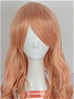 Pink Champagne Curly Long Costume Wig (Maria)
