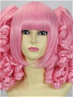 Pink Wig (Medium, Curly, Lolita, 08)